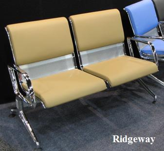 Ridgeway with beige cushions, arms
